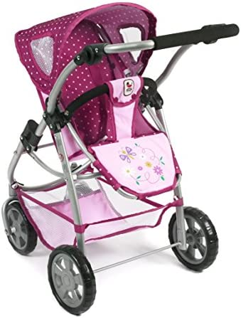 Bayer Chic 2000 637 29 - 3 in 1 Kombi Emotion All In, Dots Brombeere, lila/rosa