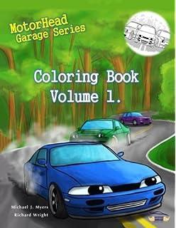 MotorHead Garage Series Coloring Book