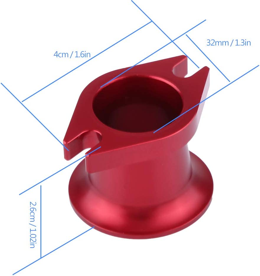 Jadpes Air Horn Inlet Aluminum Alloy Engine,CNC Aluminum Alloy Air Horn Inlet for DLE30// DLE50// DLE55//G80 Engine Intake Bell Mouth