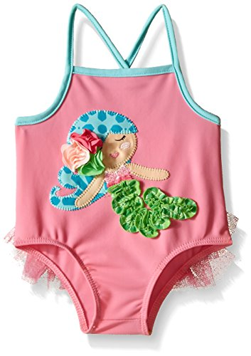 Mud Pie Baby Mermaid Swimsuit, Multi, 0-6 Months]()
