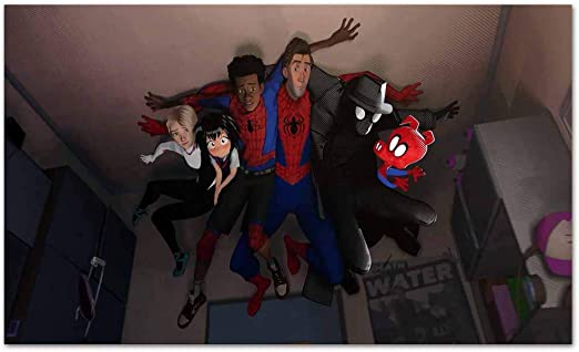 "Spider-man Spider-verse Gwen 24/"" x 16/"" Large Wall Poster Art Print Gift Decor"
