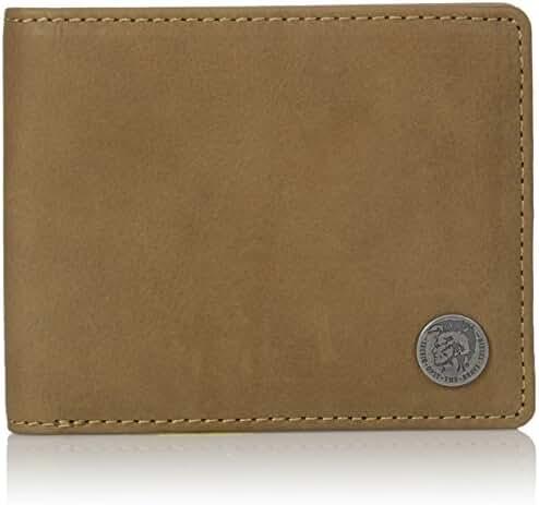 Diesel Men's Mohican Seal Neela XS Bifold Wallet