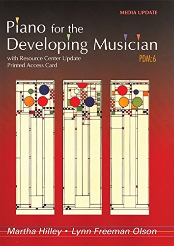 Piano for the Developing Musician, Media Update (with Resource Center Printed Access Card) by Wadsworth Publishing