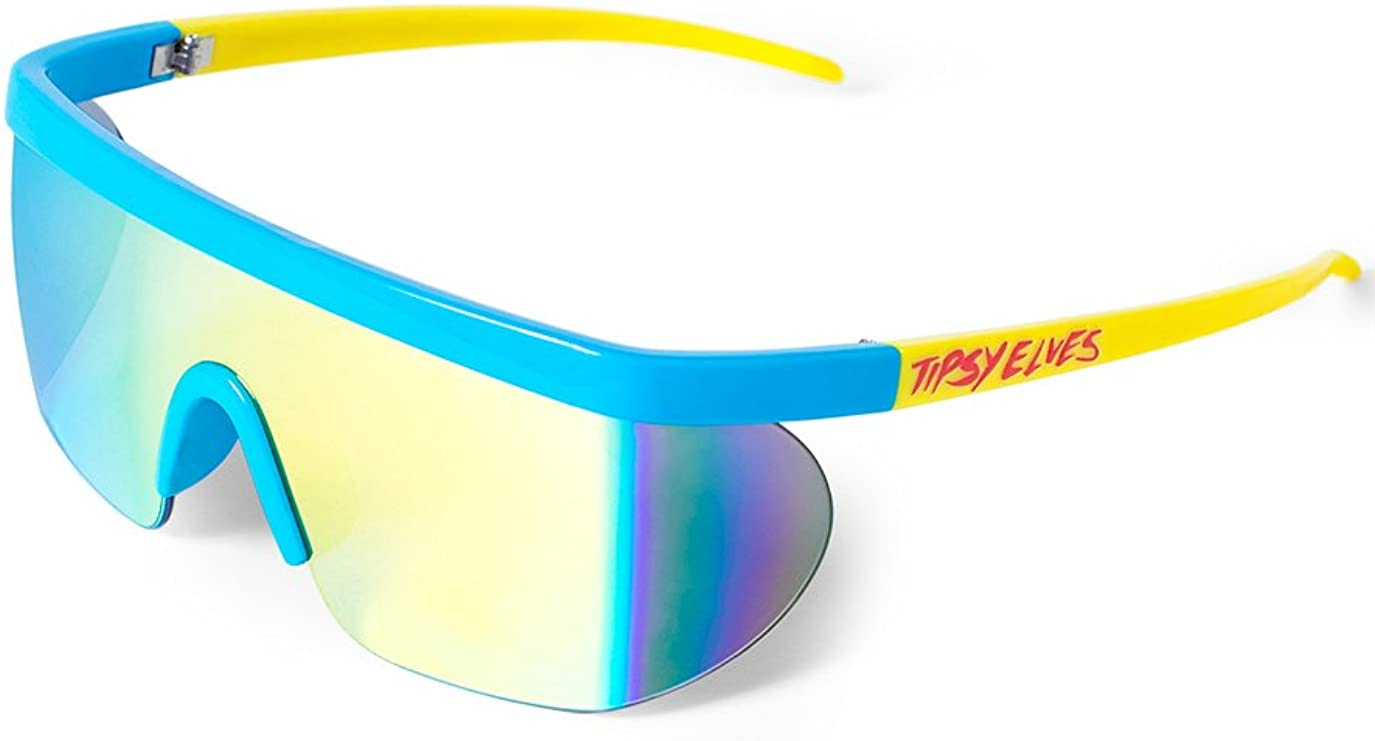 Retro Sunglasses | Vintage Glasses | New Vintage Eyeglasses Unisex Performance Sport Style Retro Mirrored Sunglasses  AT vintagedancer.com