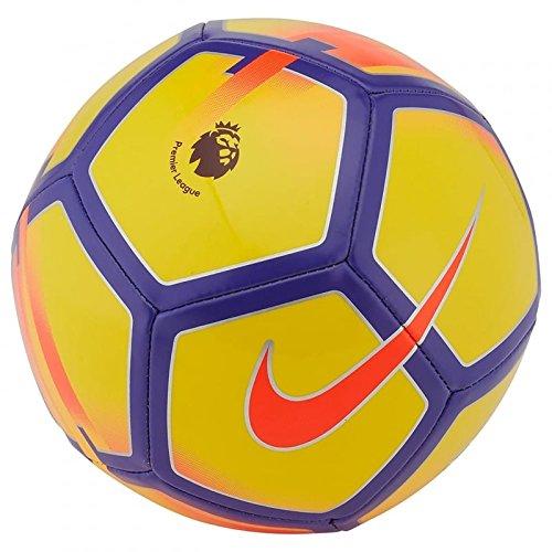 Premier League Pitch Football - Yellow/Purple