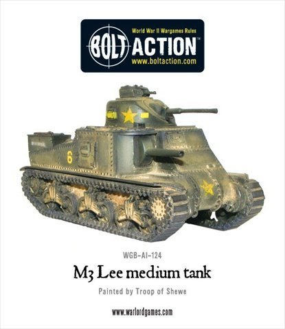 M3 Lee Tank Military Miniature ()