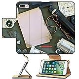 MSD Premium Apple iPhone 7 Plus Flip Pu Leather Wallet Case Old...