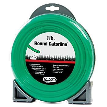 Oregon 21-355 Gatorline Round String Trimmer Line .155-inch Diameter 1-pound Donut 0