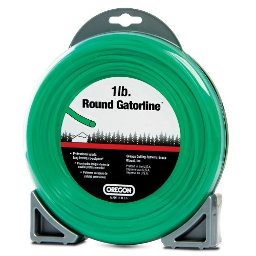 Oregon 21-355 Gatorline Round String Trimmer Line .155-Inch Diameter 1-Pound - Heavy Duty String Trimmer