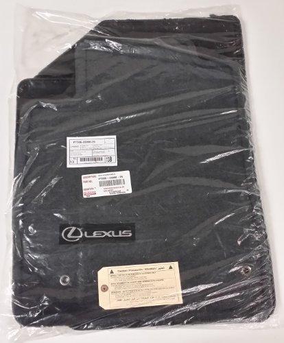 Toyota Genuine Parts PT206-33090-25 OEM Lexus ES350 Black Carpet Floor Mat Set