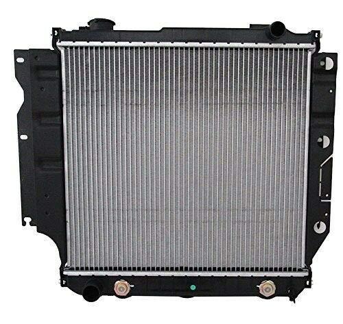 Klimoto Brand New Radiator fits Jeep TJ 1997-2006 Wrangler 1987-2006 2.4L 2.5L 4.0L 4.2L CH3010221 040876420151 52028120 5200612 CU1682 RAD1682 DPI1682 (1994 Jeep Wrangler Radiator)