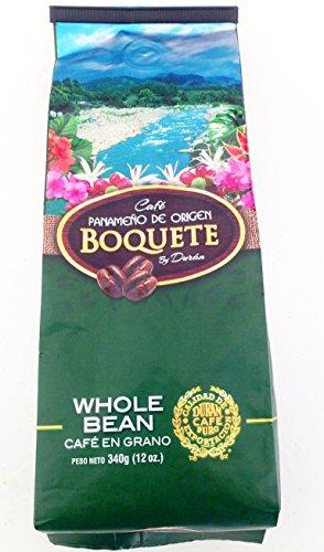 Boquete Café Duran Panamá Coffee Duran Whole Coffee Beans 12oz. Panama Gourmet Coffee Highland Fresh Coffee Beans