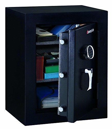 (Sentry Safe Executive Fire-Safe, 3.4 ft3, 21-3/4w x 19d x 27-3/4h, Black, EA - SENEF3428E (Renewed))