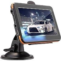CHENGWANG Navegador GPS para carro, Navegação de carro premium de alto desempenho, leitor de música MP3, motor viva-voz…