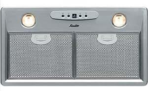 Sauter SHG501X Built-in cooker hood Metálico 840m³/h - Campana (840 m³/h, Canalizado/Recirculación, 460 m³/h, 39 dB, 60 dB, 64 dB)