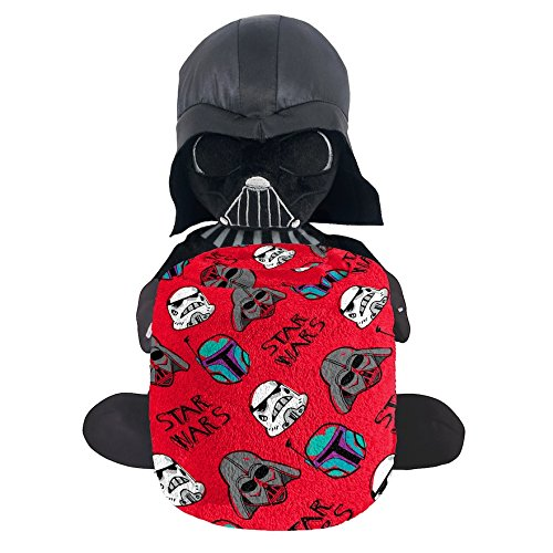 Disney Star Wars Kids Darth Vader Pillow Buddy and Plush Throw Blanket