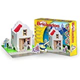 Brickadoo Construction Building House Brick Cement Wood Kid Child DIY Tool Toy (House (20926))