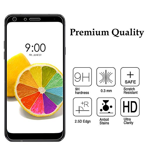 PaceBid [2 Pack] Protector de Pantalla LG Q7,[Dureza 9H] [Anti-Arañazos] [Anti-Huellas] Cristal Vidrio Templado Premium para LG Q7: Amazon.es: Electrónica