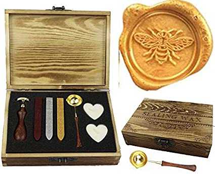 Lace Gift Wax Seal Stamp Invitation Wax Seals B91 Wedding Wax Seal Stamp Kit