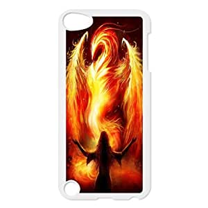 AKERCY Monster Demon Phoenix Phone Case For Ipod Touch 5 [Pattern-6]
