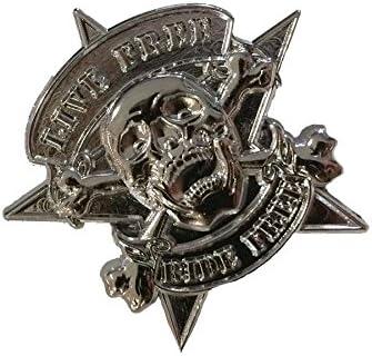 Pins badges tête de mort 3