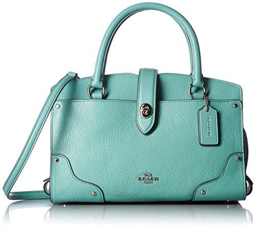 COACH Leather Mercer Satchel Handbags