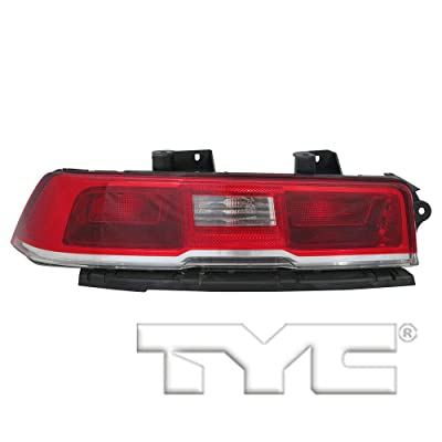 TYC 11-6744-00-1 Replacement Left Tail Lamp Compatible with Chevrolet Camaro: Automotive