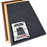 Phthalate & BPA Free. XL Size Cat Litter Mat - Mesh Mat Catches Litter - Repels Odor & Liquid - Litter Free Floors. Extra Soft - Easy Clean. iPrimio Brand (Black)