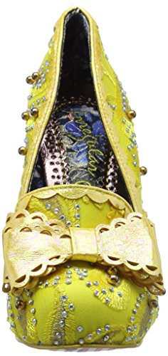 Irregular Choice Hoppity - Tacones Mujer Amarillo (Yellow)