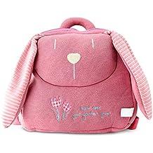BELK Pillow Soft Stuffed Pre School Lunch Bag Travel Backpack Toy Bag