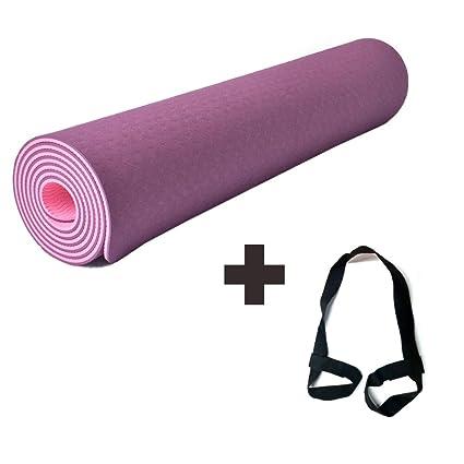 HIO Colchoneta de Yoga Antideslizante y Reversible ...