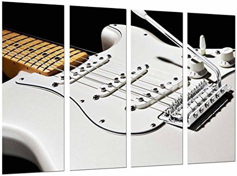 Poster Fotográfico Cuerdas de Guitarra Blanca, Decoracion Musical ...
