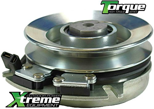 Xtreme Outdoor Power Equipment X0121 Replaces Dixon Electric PTO Clutch Upgrades OEM 539120756-Free Upgraded Bearings