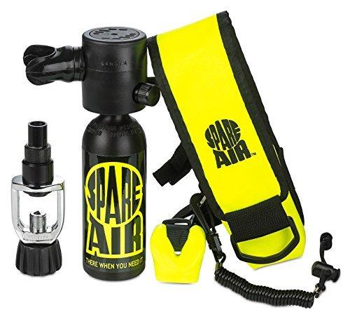 Spare Air Diving - Spare Air SPA170PK Diving Regulators Kit, Black