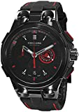 Concord C2 Automatic Chronogrph Men's Black Leather Strap Swiss Made Watch 0320187