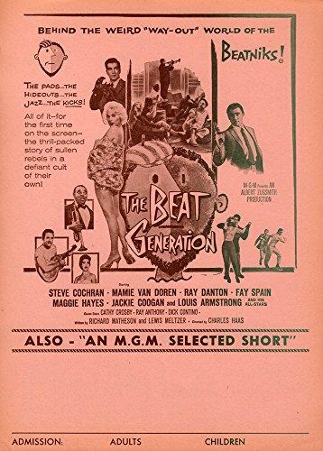 Beat Generation Original Movie Herald