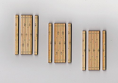 HO Laser Cut Wood Grade Crossing, 1 Lane (3) (Blair Laser Cut Line Ho)