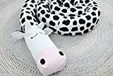 COW Baby Pillow, Handmade Pillow, Bolster Pillow