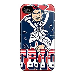 Excellent Iphone 4/4s Cases Tpu Covers Back Skin Protector New England Patriots