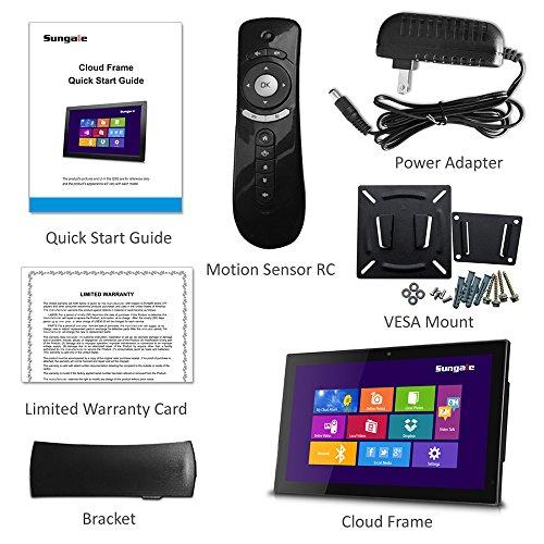 best Sungale 14-inch WiFi Cloud Digital Photo Frame w/ Front Camera ...