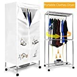 neudas Portable Clothes Dryer Electric Clothes Drying Rack Clothing Laundry Dryer Machine