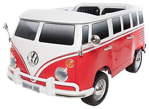 Beyond Infinity Volkswagen T1 Camper Van, 12V Battery Powered Ride On, 51.0