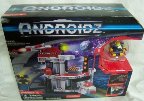 Androidz Firepost 15 Playset w  Hack Jaw Robot by Androidz