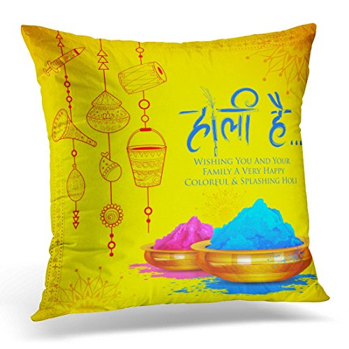 lilong Throw Pillow Covers Colorful Promotional for Festival