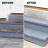 INSL-X Floor paint Sure Step Acrylic Anti-Slip Coating Paint, 1 Gallon, Light Gray
