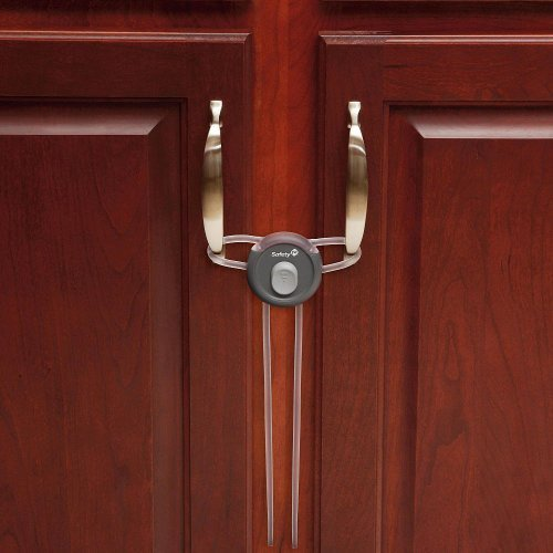 Safety 1st Secure Close Handle Lock, Décor - 2 Pack (Lock Handle Close Secure)