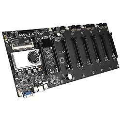 Swiftswan Btc-37 Mining Machine Motherboard CPU-Gruppe 8 Grafikkartensteckplätze Ddr3-Speicher Integrierte VGA…