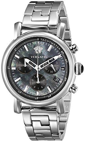 Versace Women's VLB080014 Day Glam Stainless Steel Watch