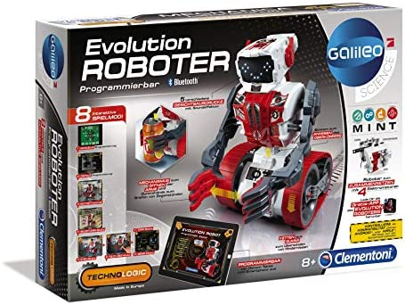 Bausatz Roboter Programmierbarer Robotik Technik Elektro Kinder Spielzeug MINT