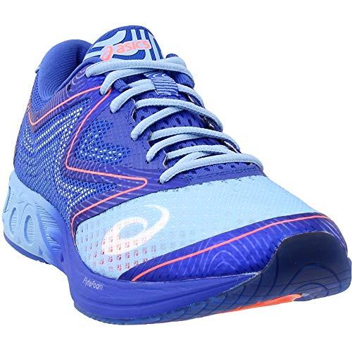 ASICS Womens Noosa FF Running Shoe, Airy Blue Purple/Flash Coral, 7.5 Medium US